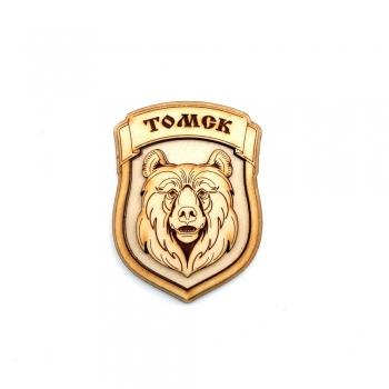 Магнит Медведь Томск 3D