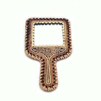 Зеркало с ручкой Рябина