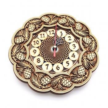 Часы Шишка 24