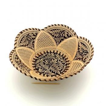 Тарелка круглая Рябина 5 лепестков