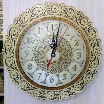 Часы Ромашка