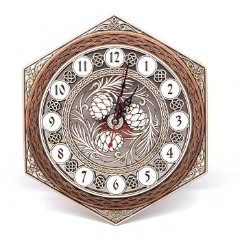 Часы Шишки 3